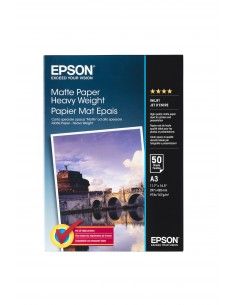Epson Matte Paper Heavy Weight, DIN A3, 167g/m², 50 Sheets Epson C13S041261 - 1