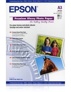 Epson Premium Glossy , DIN A3, 255g/m², 20 Sheets Epson C13S041315 - 1