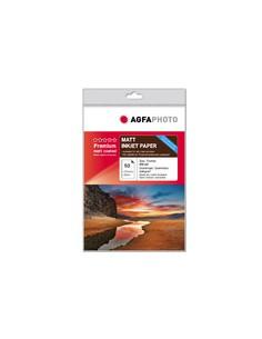 AgfaPhoto AP13050A4M tulostuspaperi A4 (210x297 mm) Matta 50 arkkia Punainen, Valkoinen Agfaphoto AP13050A4M - 1