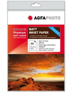 AgfaPhoto AP22020A4MDUO valokuvapaperi A4 Agfaphoto AP22020A4MDUO - 1