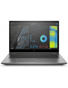 "HP ZBook Fury 17 G7 Mobiilityöasema 43.9 cm (17.3"") 1920 x 1080 pikseliä 10. sukupolven Intel® Core™ i7 32 GB DDR4-SDRAM 1000 Hp"