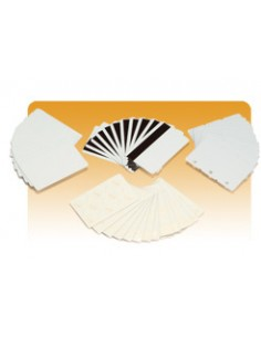 Zebra PVC Card, 30mil käyntikortti 500 kpl Zebra 104523-131 - 1