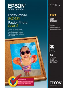 Epson Glossy - A4 20 sheets Epson C13S042538 - 1