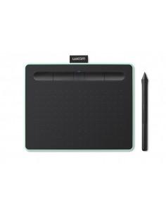 Wacom Intuos S piirtopöytä 2540 lpi 152 x 95 mm USB/Bluetooth Musta, Vihreä Wacom CTL-4100WLE-N - 1
