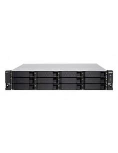 QNAP TS-h1277XU-RP NAS Teline ( 2U ) Ethernet LAN Musta, Harmaa 3700X Qnap TSH1277XURP3700X32G - 1