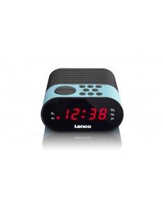 Lenco CR-07 radio Kello Musta, Sininen Lenco CR07 BLUE - 1