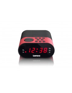 Lenco CR-07 Kello Musta, Vaaleanpunainen Lenco CR07 PINK - 1