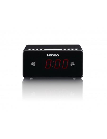 Lenco CR-510 Kello Digitaalinen Musta Lenco CR510B - 2