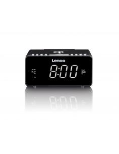 Lenco CR-550 radio Kello Musta Lenco CR550B - 1