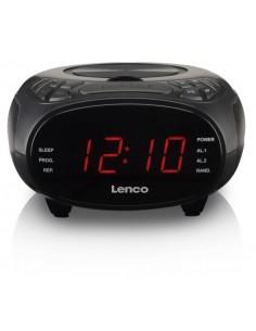 Lenco CR-740 radio Kello Musta Lenco CR740BK - 1