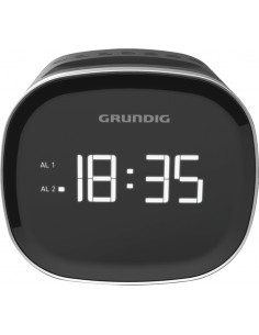 Grundig Sonoclock 2000 Kello Digitaalinen Musta Grundig GCR1090 - 1