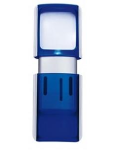 Wedo Rectangle Magnifier with LED light suurennuslasi Sininen 3x Wedo 2717503 - 1
