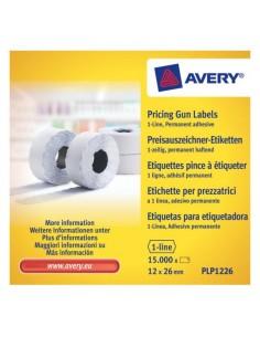 Avery PLP1226 liimaetiketti Valkoinen Hintalappu Kiinteä 15000 kpl Meto PLP1226 - 1