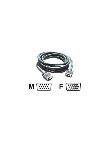 Kramer Electronics C-GM/GF-100 VGA-kabel 30.5 m VGA (D-Sub) Svart Kramer 92-6101100 - 1