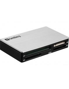 Sandberg USB 3.0 Multi Card Reader kortinlukija 3.2 Gen 1 (3.1 1) Type-A Musta, Hopea Sandberg 133-73 - 1