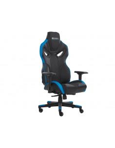 Sandberg Voodoo Gaming Chair Black/Blue PC-pelituoli pehmustettu istuin Musta, Sininen Sandberg 640-82 - 1