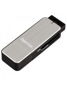 Hama 123900 kortläsare USB 3.2 Gen 1 (3.1 1) Svart, Silver Hama 123900 - 1