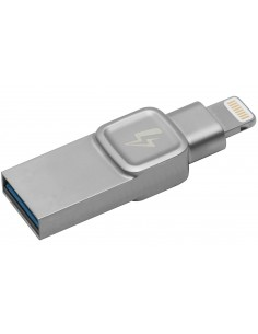 Kingston Technology DataTraveler Bolt Duo, 32GB USB flash drive Type-A / Lightning 3.2 Gen 1 (3.1 1) Silver Kingston C-USB3L-SR3