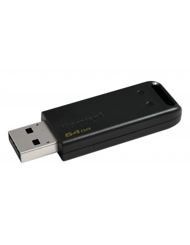 Kingston Technology DataTraveler 20 USB-muisti 64 GB USB A-tyyppi 2.0 Musta Kingston DT20/64GB - 1