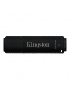 Kingston Technology DataTraveler 4000G2 USB-muisti 128 GB USB A-tyyppi 3.2 Gen 2 (3.1 2) Musta Kingston DT4000G2DM/128GB - 1