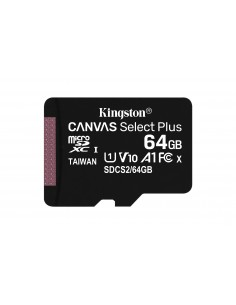 Kingston Technology Canvas Select Plus flash-muisti 64 GB MicroSDXC UHS-I Luokka 10 Kingston SDCS2/64GB - 1