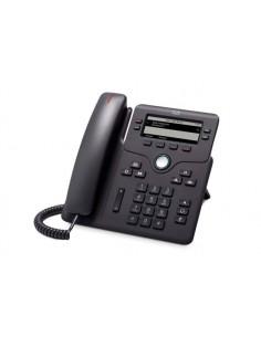 Cisco 6851 IP-puhelin Musta Johdollinen puhelin 4 linjat Wi-Fi Cisco CP-6851-3PCC-K9= - 1