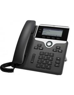 Cisco 7811 IP-puhelin Musta, Hopea Johdollinen puhelin 1 linjat LED Cisco CP-7811-K9= - 1