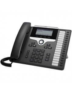 Cisco 7861 IP phone Black, Silver Wired handset 16 lines LCD Cisco CP-7861-K9= - 1