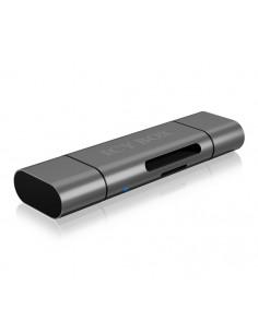 RaidSonic IB-CR200-C kortläsare USB 2.0 Svart Raidsonic Technology Gmbh IB-CR200-C - 1