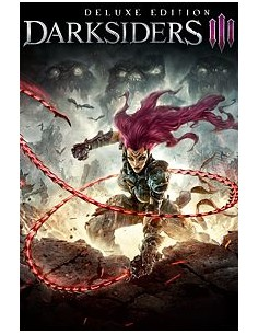 Microsoft Darksiders III: Deluxe Ed, ESD Software Download incl. Activation-Key videopeli Microsoft G3Q-00631 - 1