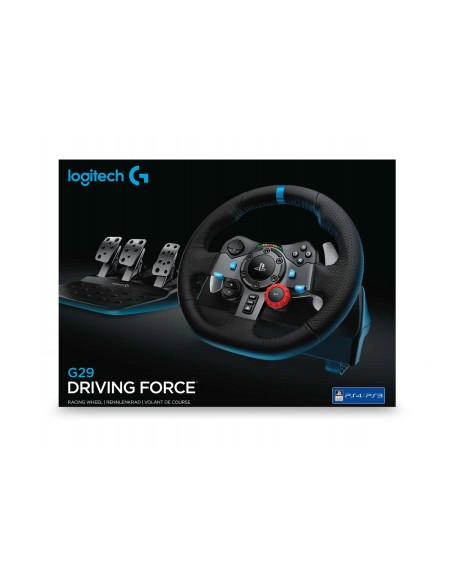 Logitech G G29 Ohjauspyörä + polkimet PC, Playstation 4. 3 Analoginen USB 2.0 Musta Logitech 941-000113 - 8