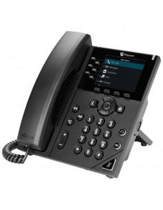 POLY VVX 350 Obi Edition IP-puhelin Musta Johdollinen puhelin LCD 6 linjat Poly 2200-48832-125 - 1