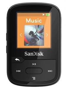Sandisk SDMX28-016G-G46K MP3-/MP4-soitin MP3-soitin Musta 16 GB Sandisk SDMX28-016G-G46K - 1