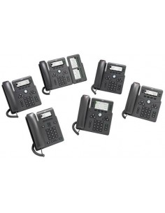 Cisco 6821 IP-puhelin Musta Johdollinen puhelin 2 linjat Cisco CP-6821-3PCC-K9= - 1