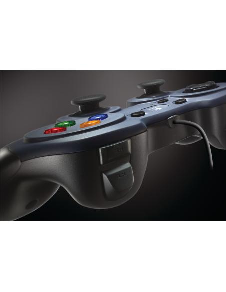 Logitech G F310 Pad-ohjain PC Digitaalinen Musta, Sininen, Monivärinen Logitech 940-000138 - 7