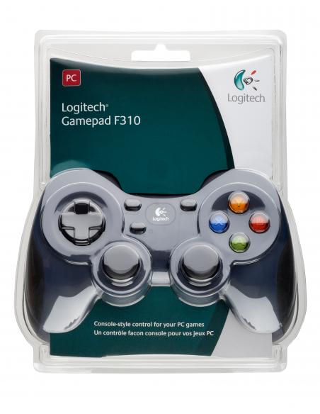 Logitech G F310 Pad-ohjain PC Digitaalinen Musta, Sininen, Monivärinen Logitech 940-000138 - 12