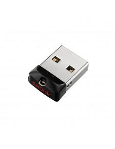 Sandisk Cruzer Fit USB-muisti 64 GB USB A-tyyppi 2.0 Musta, Hopea Sandisk SDCZ33-064G-G35 - 1