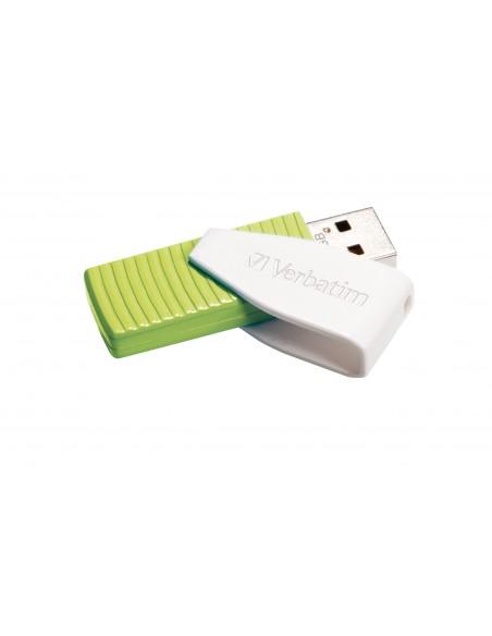 Verbatim Store 'n' Go Swivel USB-muisti 32 GB USB A-tyyppi 2.0 Vihreä Verbatim 49815 - 2