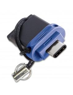 Verbatim 49967 USB-muisti 64 GB USB Type-A / Type-C 3.2 Gen 1 (3.1 1) Musta, Sininen, Hopea Verbatim 49967 - 1
