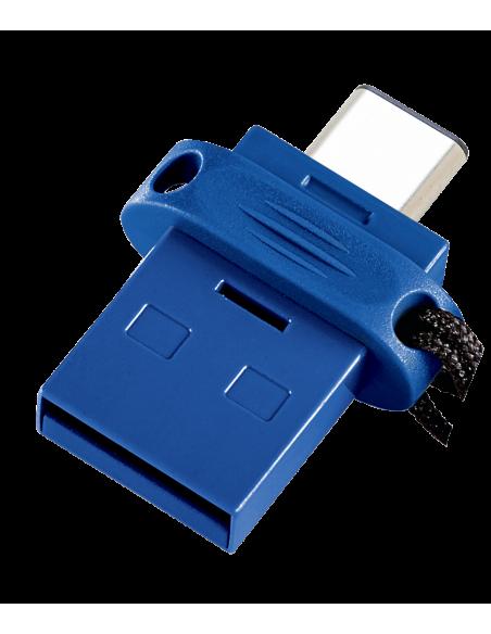 Verbatim 49967 USB-muisti 64 GB USB Type-A / Type-C 3.2 Gen 1 (3.1 1) Musta, Sininen, Hopea Verbatim 49967 - 4