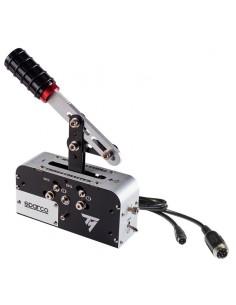 Thrustmaster TSS Handbrake Sparco Mod Käsijarru PC,PlayStation 4,Xbox One Analoginen Musta, Ruostumaton teräs Thrustmaster 40601