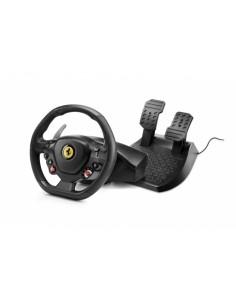 Thrustmaster T80 Ferrari 488 GTB Edition Ohjauspyörä + polkimet PlayStation 4 Digitaalinen Musta Thrustmaster 4160672 - 1