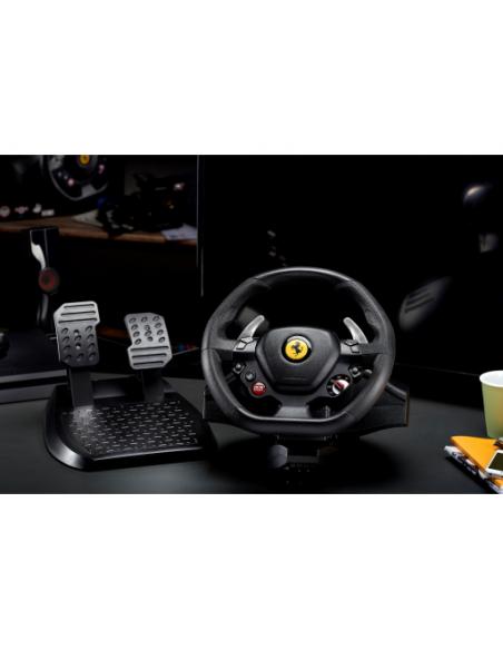 Thrustmaster T80 Ferrari 488 GTB Edition Ohjauspyörä + polkimet PlayStation 4 Digitaalinen Musta Thrustmaster 4160672 - 5