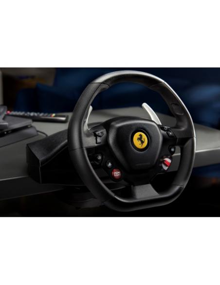 Thrustmaster T80 Ferrari 488 GTB Edition Ohjauspyörä + polkimet PlayStation 4 Digitaalinen Musta Thrustmaster 4160672 - 7