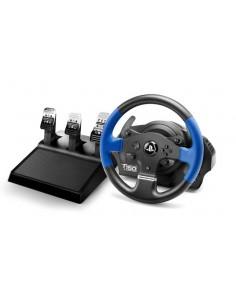 Thrustmaster T150 PRO ForceFeedback Ohjauspyörä + polkimet PC, Playstation 4. 3 USB Musta, Sininen Thrustmaster 4160696 - 1
