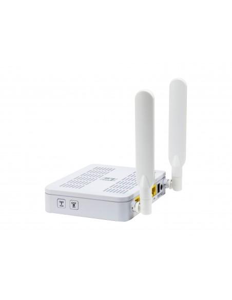 LevelOne WGR-8031 langaton reititin Kaksitaajuus (2,4 GHz/5 GHz) Gigabitti Ethernet Valkoinen Level One 54023203 - 3
