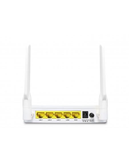 LevelOne WGR-8031 langaton reititin Kaksitaajuus (2,4 GHz/5 GHz) Gigabitti Ethernet Valkoinen Level One 54023203 - 4