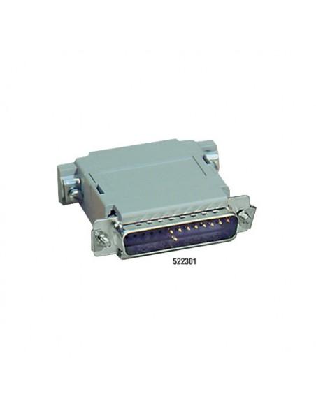 Black Box 522306 DB25 Harmaa kaapeli liitäntä / adapteri Black Box 522306 - 3