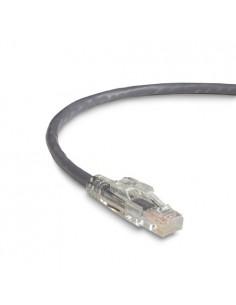 Black Box C5EPC60-GY-03M verkkokaapeli 3 m Cat5e U/UTP (UTP) Harmaa Black Box C5EPC60-GY-03M - 1