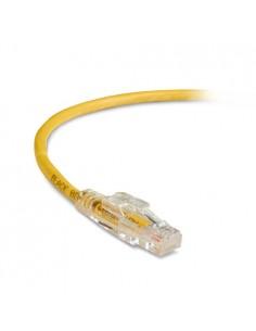 Black Box C5EPC60-YL-01M verkkokaapeli 1 m Cat5e U/UTP (UTP) Keltainen Black Box C5EPC60-YL-01M - 1